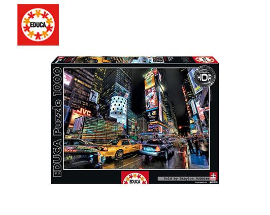 EDUCA ΠΑΖΛ 1000Τ.68x48cm TIMES SQUARE  NEW YORK