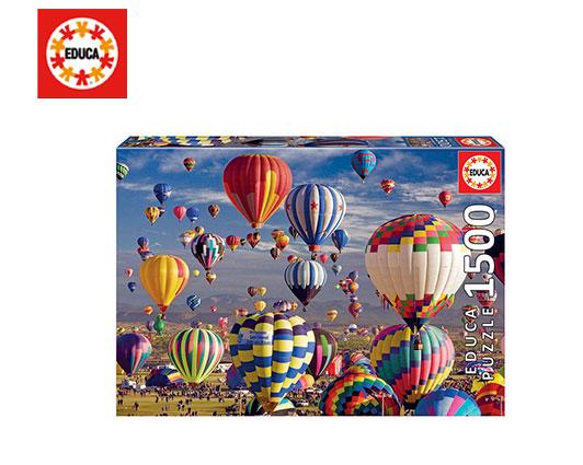 EDUCA ΠΑΖΛ 1500Τ 85x60cm HOT AIR BALLOONS