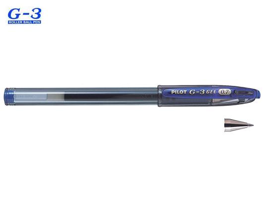 PILOT ΣΤΥΛΟ G-3 0.7mm ΜΠΛΕ 12Τ.