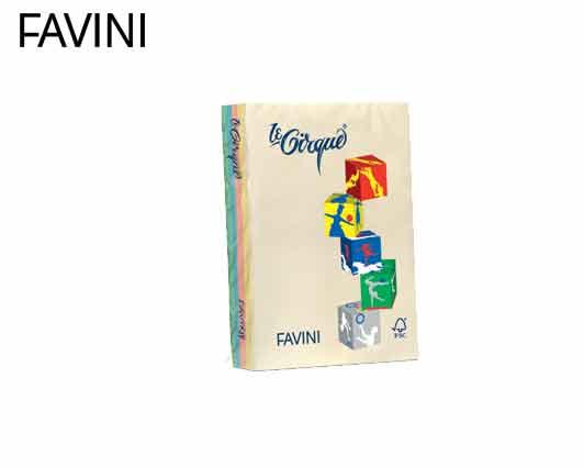 FAVINI ΧΑΡΤΙ Α4  160gr ΔΙΑΦΟΡΑ ΠΑΣΤΕΛ 250Φ.