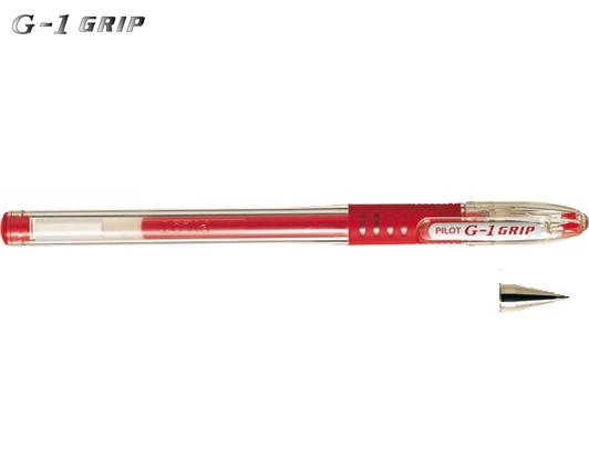 PILOT ΣΤΥΛΟ G-1 GRIP 0.5mm ΚΟΚΚΙΝΟ 12Τ.