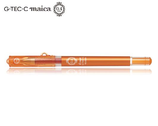 PILOT ΣΤΥΛΟ G-TEC-C MAICA 0.4mm ΠΟΡΤΟΚΑΛΙ 12T.