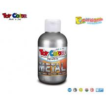 TOY COLOR ΤΕΜΠΕΡΑ 250ml SUPERWASHABLE SILVER