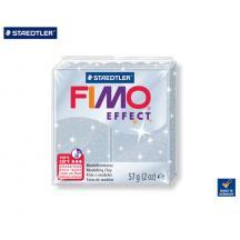 STAEDTLER ΠΗΛΟΣ 57gr FIMO EFFECT GLITTER SILVER