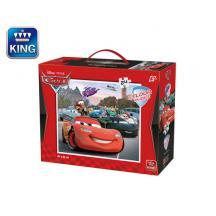 KING ΠΑΖΛ ΔΑΠΕΔΟΥ 24Τ. XL 61x51cm CARS LIC.