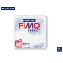 STAEDTLER ΠΗΛΟΣ 57gr FIMO EFFECT GLITTER WHITE
