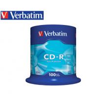 VERBATIM CD-R 700MB 52X 100Τ. CAKEBOX DATALIFE