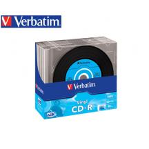 VERBATIM CD-R 700MB 52X 10Τ. SLIM VINYL 43426