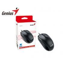 GENIUS MOUSE USB DX-110 ΜΑΥΡΟ 25147