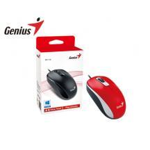 GENIUS MOUSE USB DX-110 ΚΟΚΚΙΝΟ 25150