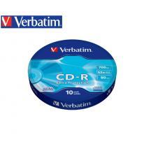 VERBATIM CD-R 700MB 52X 10Τ. ΣΥΡΡΙΚΝΩΣΗΣ