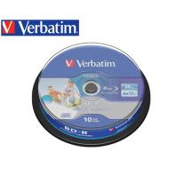 VERBATIM BLU RAY 25GB 6X 10Τ. PRINTABLE CB 43804
