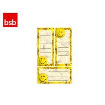 BSB ΕΤΙΚΕΤΤΕΣ ΣΧΟΛΙΚΕΣ 7.8x12.5 SMILEY 1 (3Φ.)