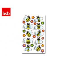 BSB ΑΥΤΟΚΟΛΛΗΤΑ 3D ΚΑΡΤΕΛΑ 1Φ. 7,6x12cm ΜΕΛΙΣΣΕΣ