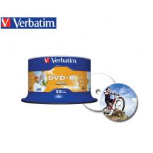 VERBATIM DVD-R 4.7GB 16X 50Τ. PRINTABLE CB 43533