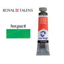 TALENS ΧΡΩΜΑ ΛΑΔΙΟΥ 20ml V.GOGH PERMANENT GREEN MEDIUM 3Σ.