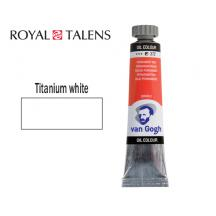 TALENS ΧΡΩΜΑ ΛΑΔΙΟΥ 20ml V.GOGH TITANIUM WHITE 3Σ.