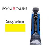 TALENS ΧΡΩΜΑ ΛΑΔΙΟΥ 40ml REMBR. CADMIUM YELLOW LEMON 3Σ.