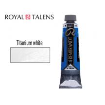 TALENS ΧΡΩΜΑ ΛΑΔΙΟΥ 40ml REMBR. TITANIUM WHITE 3Σ.