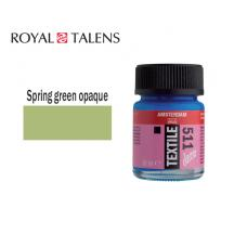 TALENS ΧΡΩΜΑ ΓΙΑ ΥΦΑΣΜΑ 16ml AMS DECO SPRING GREEN OPAQUE 3Τ.
