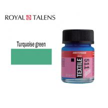 TALENS ΧΡΩΜΑ ΓΙΑ ΥΦΑΣΜΑ 16ml AMS DECO TURQUOISE 3Τ.