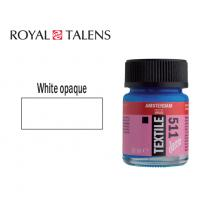 ROYAL TALENS ΧΡΩΜΑ ΓΙΑ ΥΦΑΣΜΑ 16ml AMSTERDAM DECO WHITE OPAQUE 3Τ.