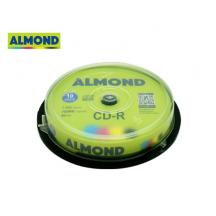 ALMOND CD-R 700MB 52X 10Τ. CB