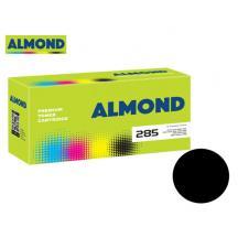 ALMOND TONER ΓΙΑ MITA #KM-1620/#TK-410/#TK-435 BK 15.000Φ. &WASTE BOX (Ν)