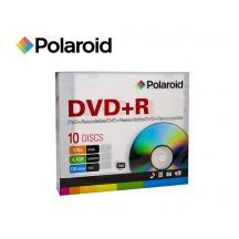 POLAROID DVD+R 4,7GB 16X 10Τ. SLIM