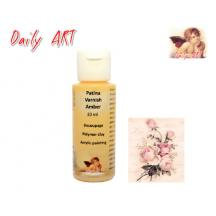 DAILY ART PATINA VARNISH 30ml AMBER