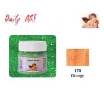 DAILY ART ΠΑΣΤΑ GLITTER 50 ml ORANGE