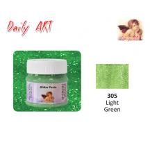 DAILY ART ΠΑΣΤΑ GLITTER 50 ml LIGHT GREEN