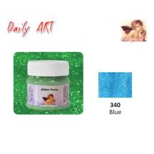 DAILY ART ΠΑΣΤΑ GLITTER 50 ml BLUE