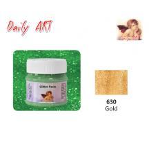 DAILY ART ΠΑΣΤΑ GLITTER 50 ml GOLD