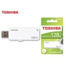 TOSHIBA FLASH DRIVE USB 2.0 128GB YAMABIKO U203 ΛΕΥΚΟ