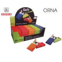 ORNA ΤΑΜΠΑΚΙΕΡΑ PVC.5,7x9,2x2,5cm ΑΣΣΟΡΤΙ 35Τ.