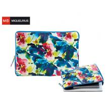MIQ ΘΗΚΗ LAPTOP 13' MR WATERCOLOUR LEATHER LOOK