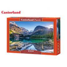CASTORLAND ΠΑΖΛ 1000Τ. 68x47cm LAKE O'HARA CANADA