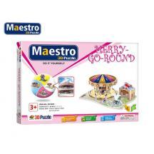 MAESTRO ΠΑΖΛ 3D 44Τ. 17x12x7,5cm. ΚΑΡΟΥΖΕΛ