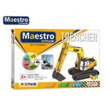 MAESTRO ΠΑΖΛ 3D 49Τ. 32x10,5x21,5cm.