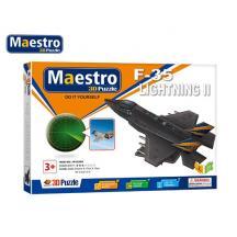 MAESTRO ΠΑΖΛ 3D 34Τ. 25,5x17x13cm F-35