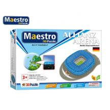 MAESTRO ΠΑΖΛ 3D 84Τ. 39,5x27x7cm ARENA