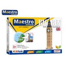 MAESTRO ΠΑΖΛ 3D 57Τ. 12x12x58,5cm BIG BEN