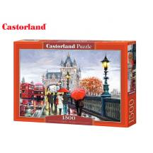 CASTORLAND ΠΑΖΛ 1500Τ. 68x47cm TOWER BRIDGE