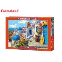 CASTORLAND ΠΑΖΛ 2000Τ. 92x68cm SPRING IN SANTORINI