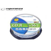 ESPERANZA CD-R 700MB 56X 10Τ. CB 2006