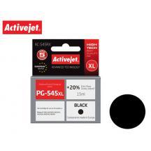 ACTIVEJET INK ΓΙΑ CANON #PG-545 XL BLACK AC-545RX 18ml (Α)