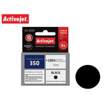 ACTIVEJET INK ΓΙΑ HP #350XL BLACK CB335 AH-350R 10ml (Α)
