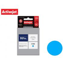 ACTIVEJET INK ΓΙΑ HP #951XL CYAN CN046 AH-951CRX 25ml (Α)