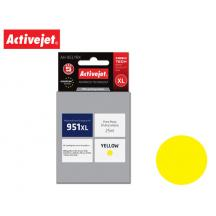 ACTIVEJET INK ΓΙΑ HP #951XL YELLOW CN048 AH-951YRX 25ml (Α)